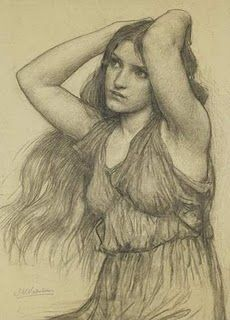 John William Waterhouse ~ Flora and the Zephyrs, 1897