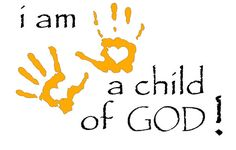 Vinyl Wall Art Decal  I am a Child of God by WOWhomedecor on Etsy, $45.00