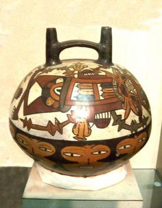 Nasca culture thrived on the south coast of present-day Peru for several hundred years, from 200 BC to AD 600.