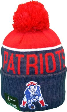 079e1f88e9d39 New England Patriots Vintage Sideline Knit Pom Toque (LIMITED!!) Winter Hats