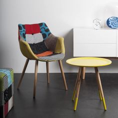 "Fauteuil ""Patchwork"" http://www.interieuretobjets.fr/fauteuils/250-fauteuil-patchwork.html"