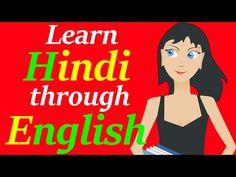 Learn Hindi through English | Full course - YouTube