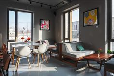 Интерьер нового кафе Monkey's от дизайн-студии ID project | Свежие идеи дизайна интерьеров, декора, архитектуры на InMyRoom.ru