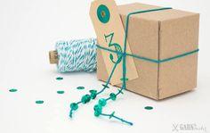 Neue Kraftkarton-Schachteln / new kraftpaper boxes GARN & MEHR