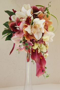 These would be pretty wedding flowers!