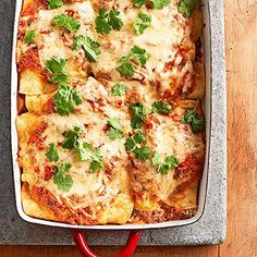 Enchiladas Suizas From Better Homes and Gardens, ideas and improvement projects for your home and garden plus recipes and entertaining ideas.