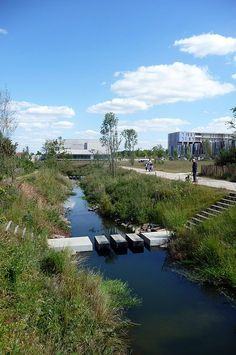 Bottière Chênaie Eco-district by Atelier des Paysages Bruel-Delmar « Landezine | Landscape Architecture Works