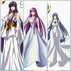 Athena saori kido,sendai,sasha.🔱 Sailor Moon, Saints, Sendai, Aphrodite, Art Girl, Anime Characters, Manga Anime, Knight, Pin Up