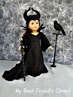 Dark Queen-18 inch American Girl Doll von MyBestFriendsCloset8