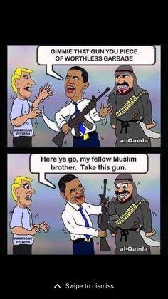 Has Obama already begun the surrender to Islam like Europe already has?