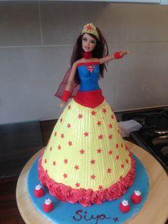 Supergirl Chocolate cake