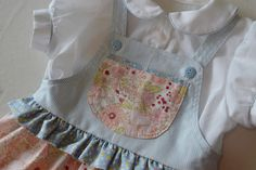 Gee's Projects: Fashion for Girls 'Sweet Pinafore and Blouse'