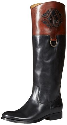 Frye Women's Melissa Logo Boot >> Quickly view this special boots, click the image : Women's cowboy boots