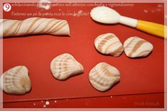 shells fondant tutorial without moulds - CakesDecor