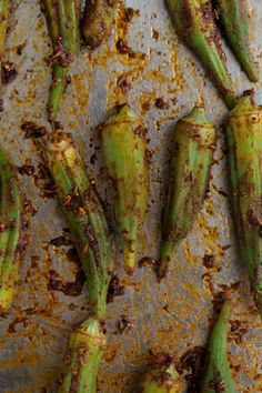 Blackened Okra Recipe via Naturally Ella.