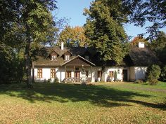 Kraków, dworek Jana Matejki w Krzesławicach Manor Houses, Krakow, Decoration, Exterior Design, Poland, Interior Architecture, Buildings, Villa, Castle