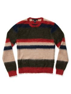 MARC by Marc Jacobs Striped Mohair Sweater