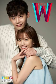 Upcoming MBC drama 'W' or 'W - Two Worlds' will not disappoint you!Recently, MBC dropped some of the cutest couple photos ever of leads Lee Jong Suk a… W Two Worlds Art, Between Two Worlds, W Korean Drama, Korean Drama Series, Korean Celebrities, Korean Actors, Asian Actors, Han Hyo Joo Lee Jong Suk, W Two Worlds Wallpaper