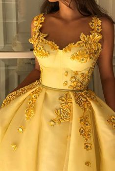 Yellow Vintage 2019 African Evening Dresses Spaghetti A-line Tulle Prom Dresses Sexy Cheap Formal Party Bridesmaid Pageant Gowns Grad Dresses, Ball Dresses, Homecoming Dresses, Ball Gowns, Prom Dress, Dresses Dresses, Flower Dresses, Bridesmaid Dresses, Elegant Dresses