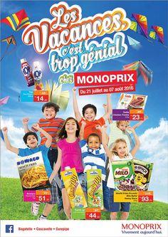 Jusqu'au dimanche 7 août, c'est les PROMOS Grandes Vacances chez MONOPRIX ! Tél: 468 8010
