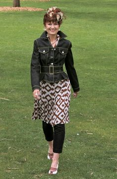 Dress with leggings cute!!