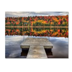 'Autumn' by Pierre Leclerc Photographic Print on Canvas