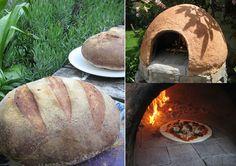 Outdoor cob oven