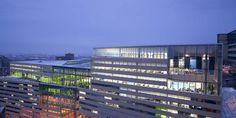 Ecole Polytechnique de Montréal Multi Story Building, Montreal Canada, Switzerland
