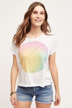 Watercolor Sun Tee by Sundry - anthropologie.com