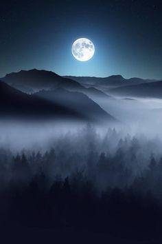 Обложки и премейды. #разное # Разное # amreading # books # wattpad Night Sky Moon, Good Night Moon, Night Skies, Wald Tattoo, Luna Moon, Shoot The Moon, Moon Photos, Moon Photography, Night Aesthetic