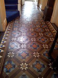 Beautiful Minton Tiled Hallway Floor we restored. Victorian Hallway, Victorian Tiles, Antique Tiles, Hallway Inspiration, Hallway Ideas, Minton Tiles, Tiled Floors, Mosaic Floors, Tiled Hallway