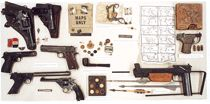 Office of Strategic Services provided agents with a wide range of espionage tools, including silk maps; crossbows and arrows; miniature telescopes and compasses; barter kits; and a pipe that could be smoked without damaging the hidden compass and maps concealed inside