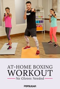 Boxing Workout Punch it out with this guided 15 minute boxing routine! Torch calories and tone key muscle groups all in one workout.Punch it out with this guided 15 minute boxing routine! Torch calories and tone key muscle groups all in one workout. Boxing Routine, Home Boxing Workout, Home Workout Videos, Kickboxing Workout, At Home Workouts, Boxing Fitness, Boxing Boxing, Cardio Boxing, Boxing At Home