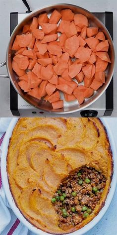 31 reviews · 60 minutes · Gluten free · Serves 6 · This Sweet Potato Shepherd's Pie recipe is healthy, easy to make, and so scrumptious. The perfect fall recipe and the ultimate comfort food that can be on your dinner table in no time. Pumpkin Recipes, Vegan Pumpkin, Pumpkin Puree, Dinner Table, Fall Trends, Fall Dinner Recipes, Autumn Food Recipes, Healthy Dinner Meals, Paleo Fall Recipes