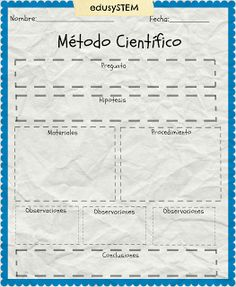 Método Científico para niños de Primaria Science Fair, Science For Kids, Science And Nature, Science Experiments, Matter Activities, Material Didático, Curious Facts, Medicine Student, Bilingual Education