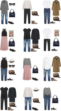 What to Wear in Central Europe Outfit Options 13-24 #packinglight #travellight #travel #traveltips #livelovesara