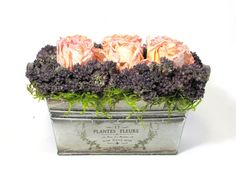 french country flower arrangements | ... Floral Arrangement, French Country, Dried Flowers, Dried Flower