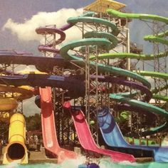 I wanna go to a water park this summer Summer Of Love, Summer Days, Summer Vibes, Summer Fun, Water Slides, Summer Breeze, During The Summer, Summertime, Seasons