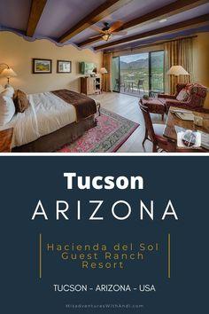 Hacienda del Sol Tucson guest ranch resort is an amazing luxury hotel property that is perfect for a romantic Tucson weekend getaway. Tucson hotels. Where to stay in Tucson. Where to eat in Tucson. #visittucson #tucson #arizona #luxurytravel