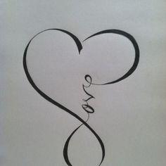 Infinity tattoo http://inkspire.awwomg.com/tattoodesigns/infinity-tattoo/