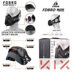 KIX MMA Sports masks - conditioning training with box phantom mask   #UfcStarterpack #MmaSupplies #mma #KixMma #MmaStarterpack #summeriscoming #nofear #movenow