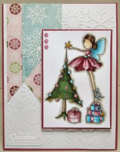 Ever After Papercrafts: Happy Christmas All Dressed Up Style