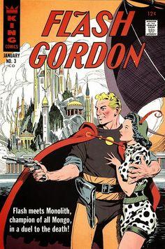 Artist : Al Williamson, Flash Gordon's KING (Pubisher) cover