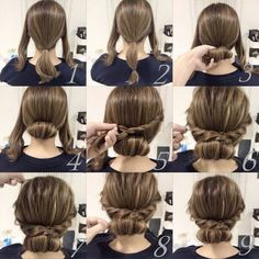 Imagem através do We Heart It #hair #hairstyle #tutorial