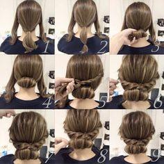 Imagem através do We Heart It #hair #hairstyle #tutorial