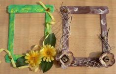 Rámečky Craft Stick Crafts, Ms, Frame, Creative, Home Decor, Ideas, Sticks, Room Decor, Frames