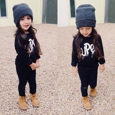 Toddler girl fall outfit @KortenStEiN