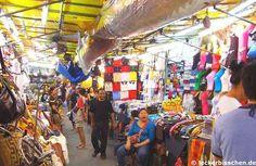 Patpong NAchtmarkt - für gefälschte Waren, Öffnungszeiten 18:00-1:00