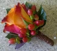 Image result for autumn buttonholes
