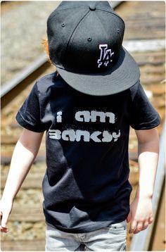I Am Banksy Tee #banksy